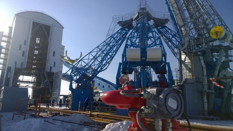 Пожарные роботы из Карелии на космодроме Восточный. Фото: firerobots.ru