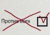 """Графы """"Против всех"""" на муниципальных выборах в Карелии больше не будет? Коллаж: mustoi.ru"""