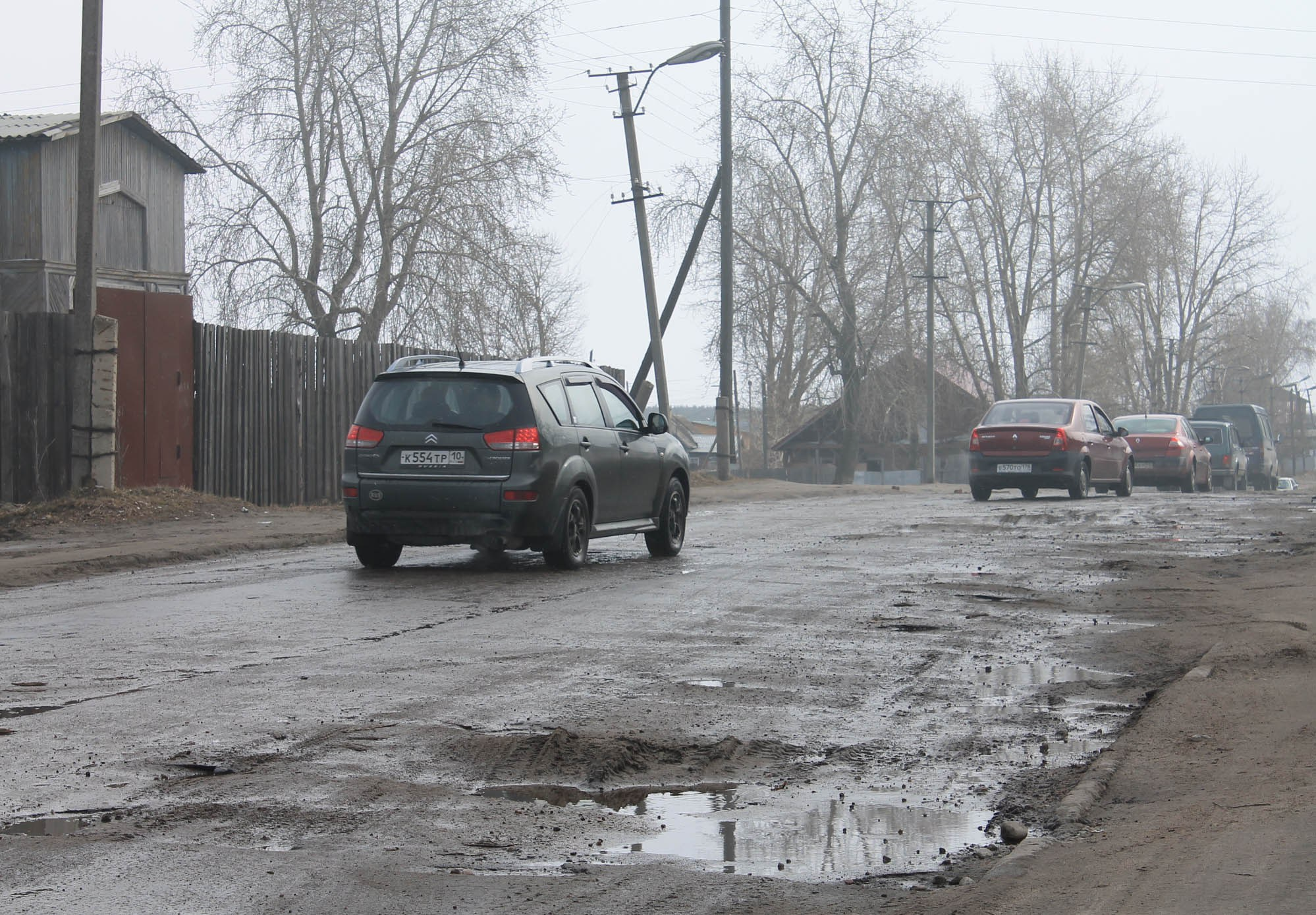 По таким дорогам ездят жители Карелии. Фото: Наталья Соколова