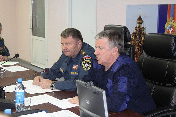 Глава Карелии на заседании оперативного штаба. Фото: gov.karelia.ru