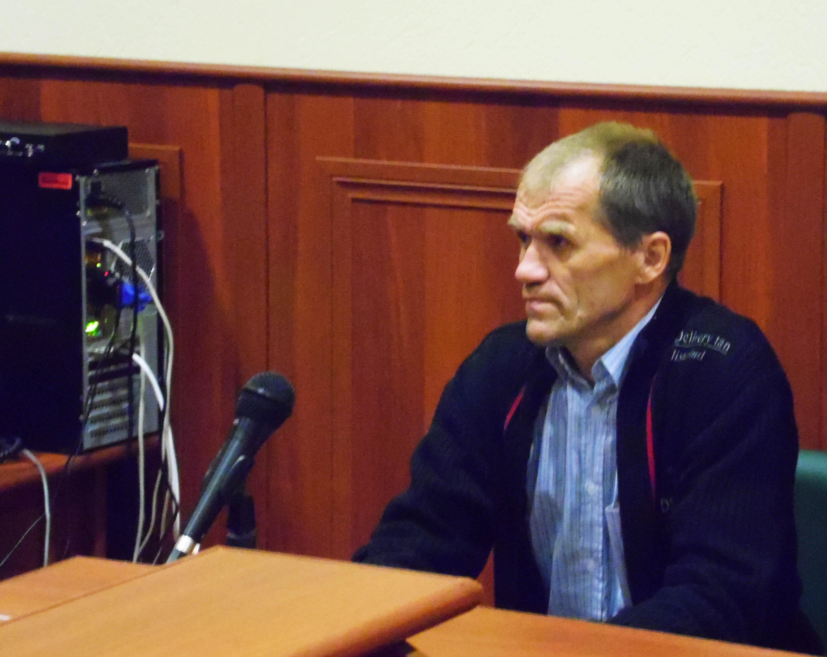 Игорь Некин в Верховном суде Карелии. Фото: Алексей Владимиров