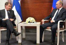 В пятницу президент России Владимир Путин проведет переговоры со своим финским коллегой Саули Ниинисте. Фото: kremlin.ru