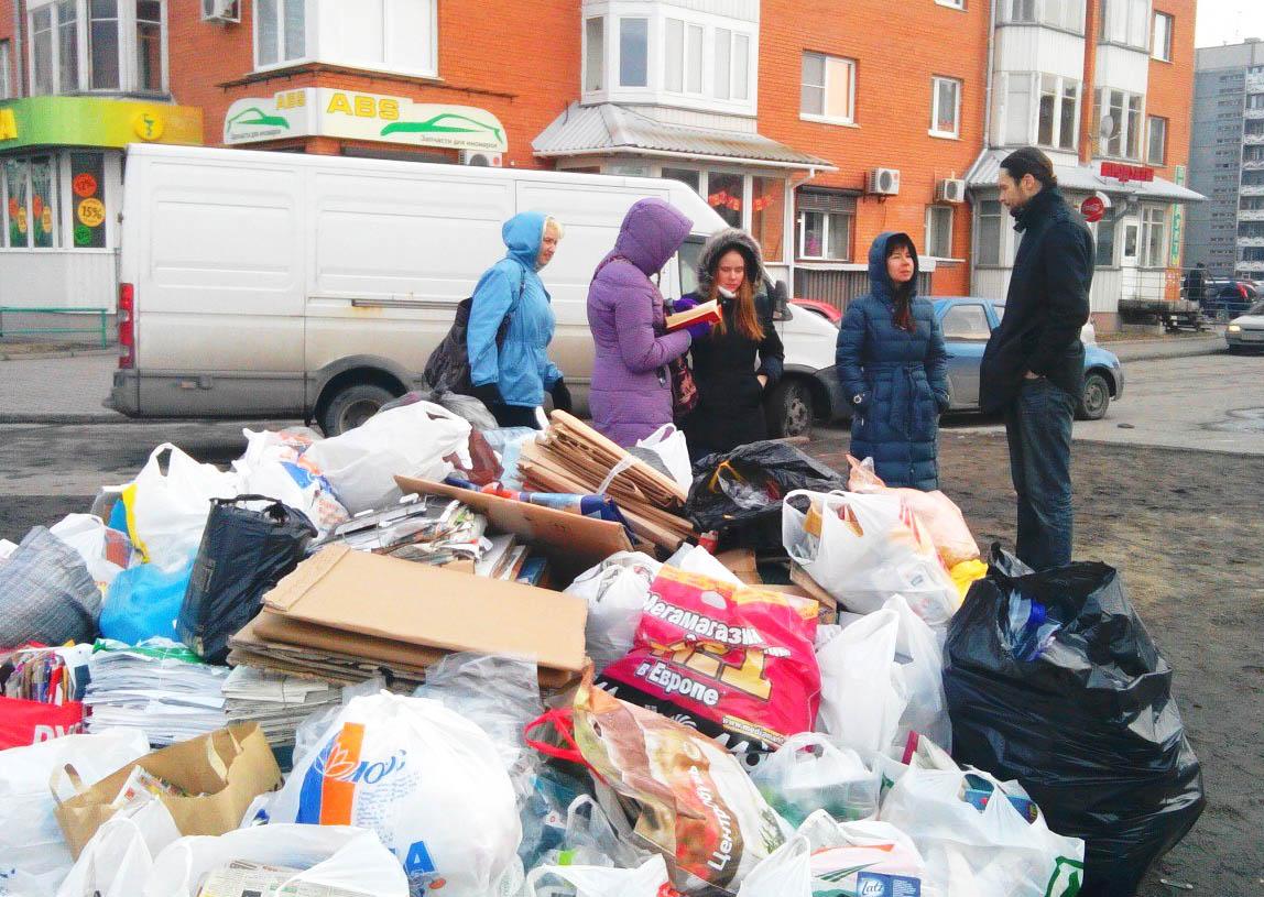 Экологические активисты выступают за раздельный сбор отходов. Фото: vk.com