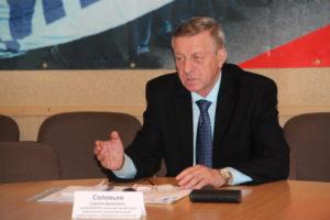 Сергей Соловьев. Фото: prof.karelia.ru