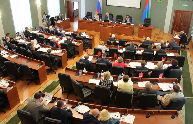 Заседание Законодательного собрания Карелии V созыва. Фото: karelia-zs.ru