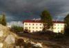 """Этот дом по программе расселения аварийного жилья в карельском городе Сегеже возводит фирма """"РСП Индустрия"""". Фото: mustoi.ru"""