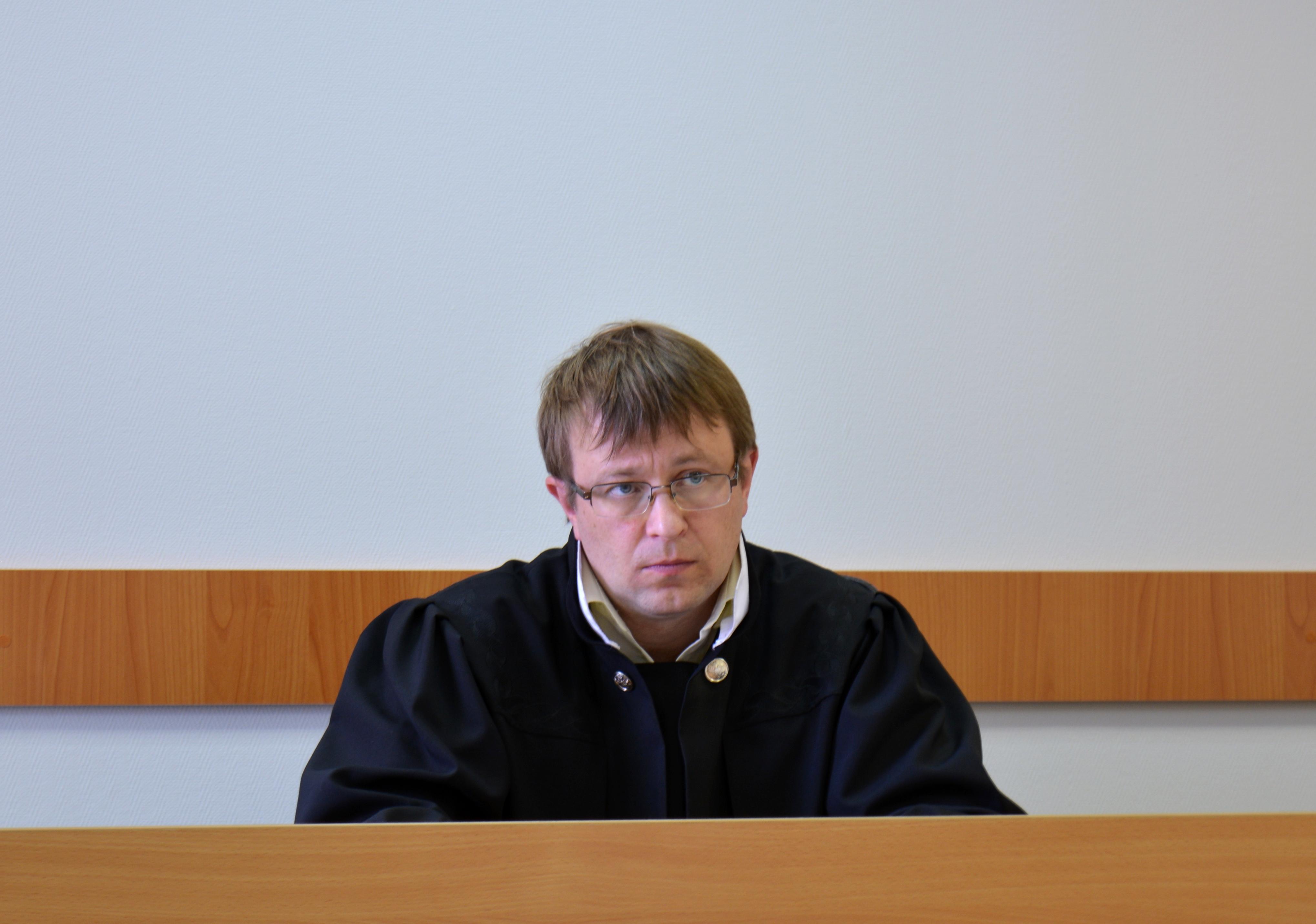 Судья Павел Малыгин. Фото: Алексей Владимиров