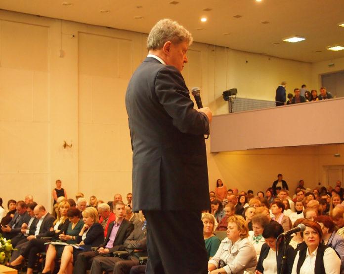 Григорий Явлинский провел встречу с жителями Петрозаводска. Фото: Валерий Поташов
