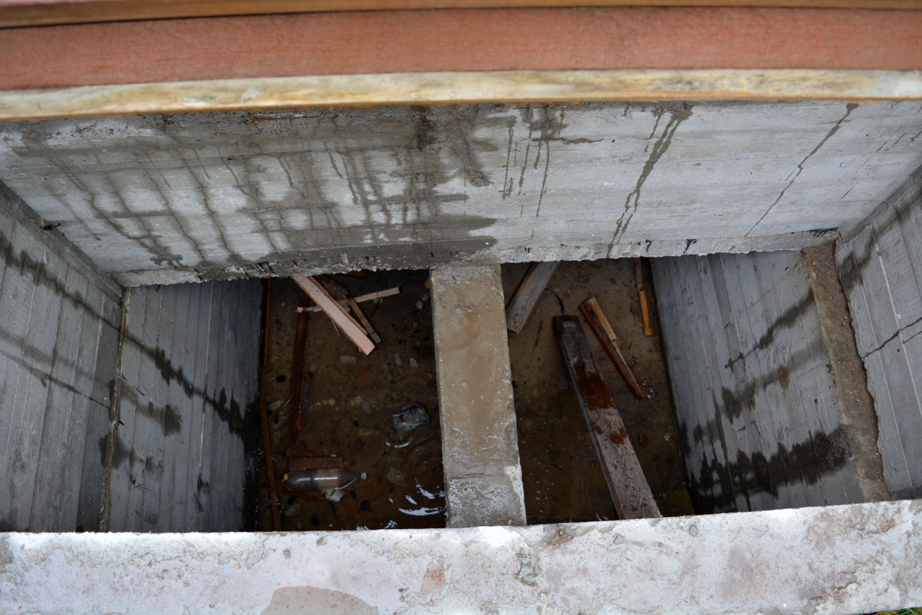 Сливная яма. Фото: Алексей Владимиров