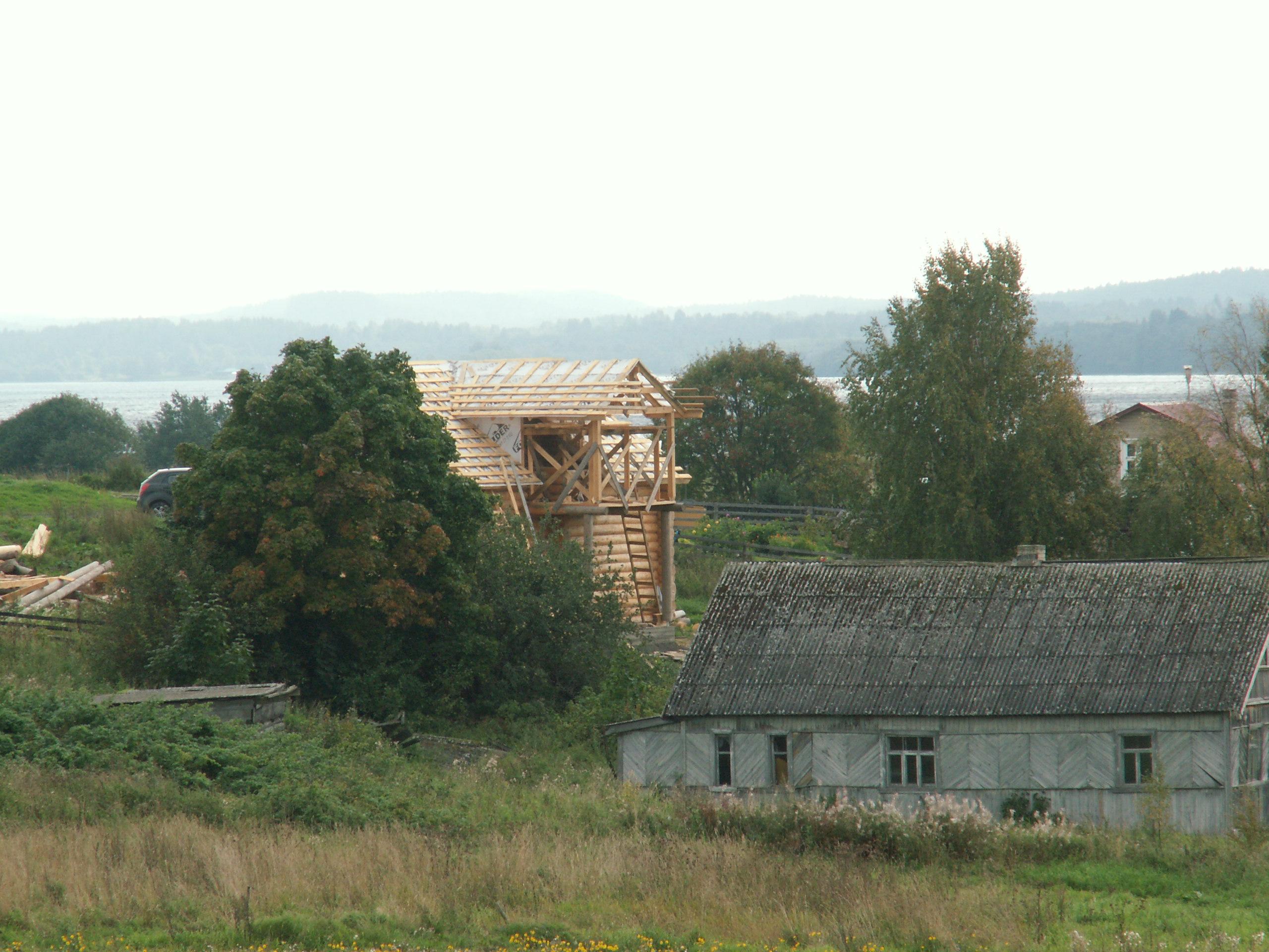 Турачкины строятся. Фото: Татьяна Смирнова