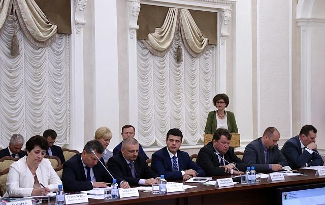 На июльском заседании правительства Карелии. Фото: gov.karelia.ru