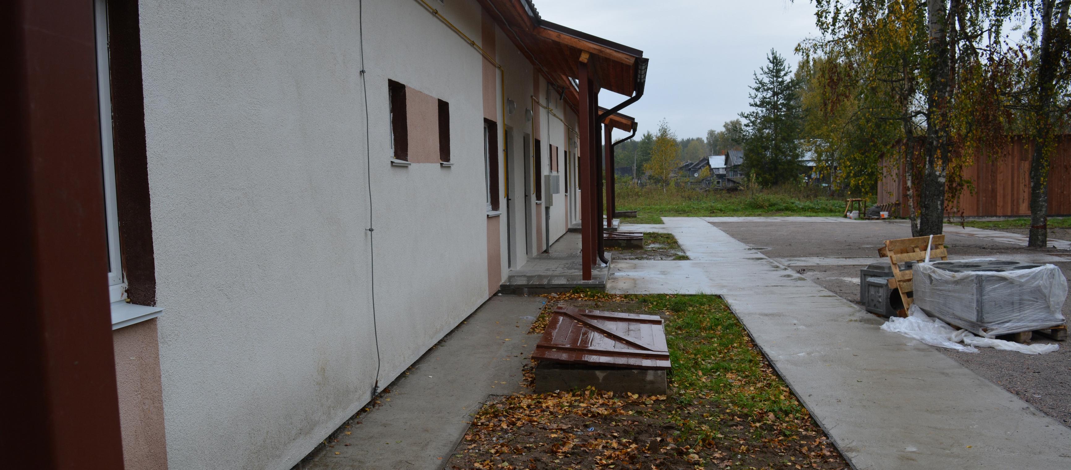 Дом для переселенцев в Верхних Важинах. Фото: Алексей Владимиров