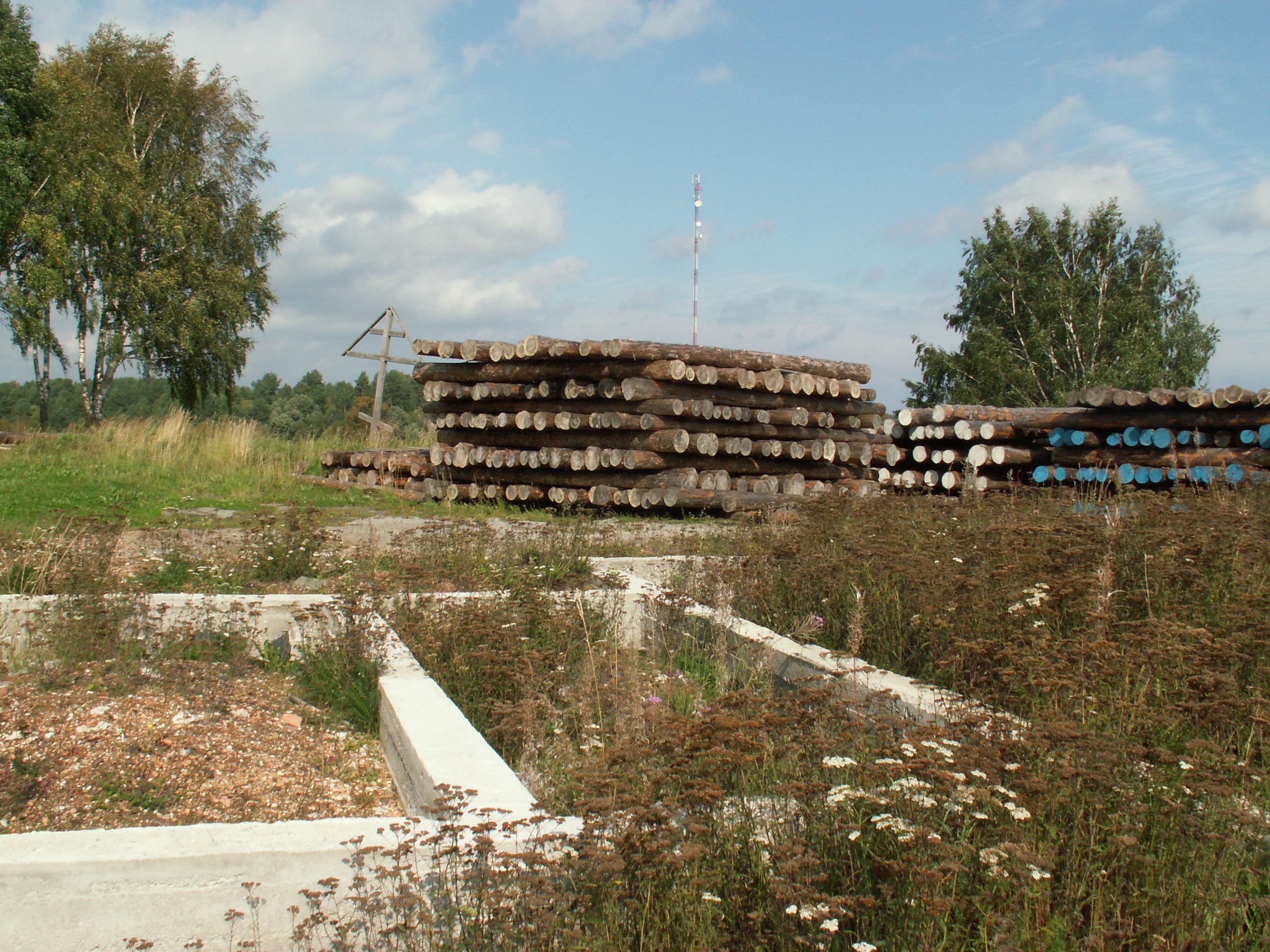 Строительство храма встало. Фото: Татьяна Смирнова