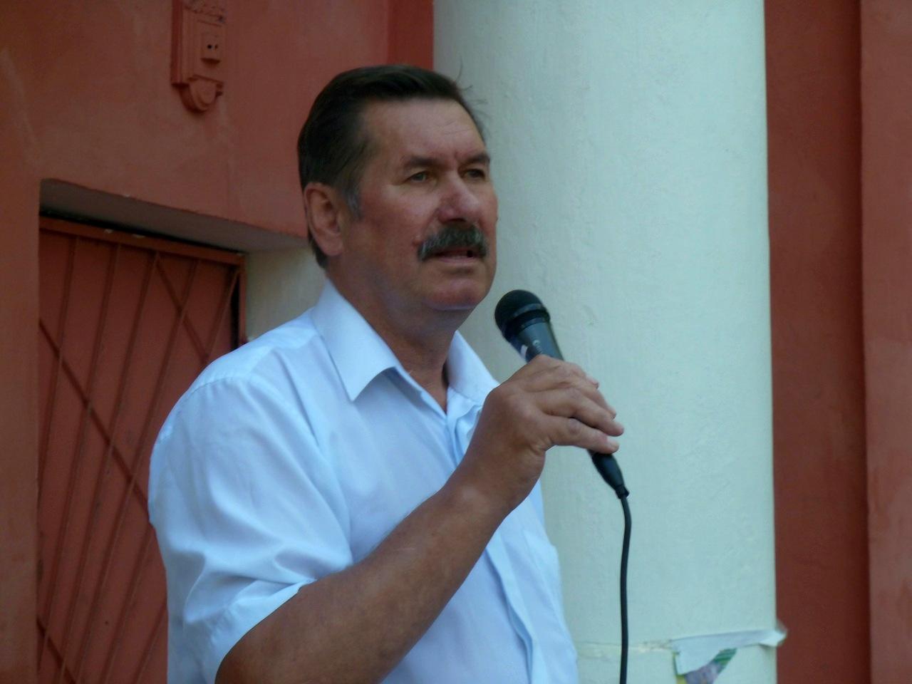 Глава районной администрации Владимир Карпенко. Фото: Алексей Владимиров