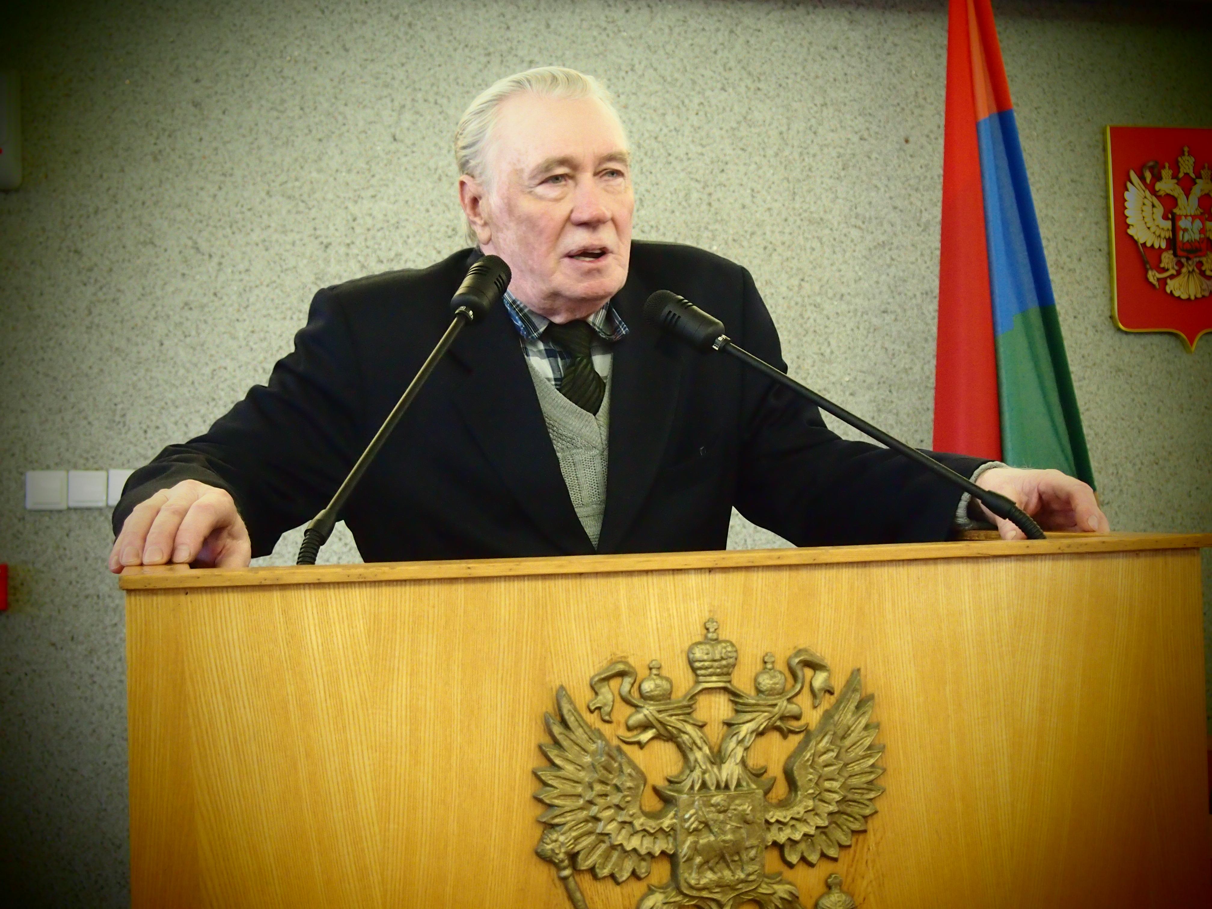 Почетный гражданин Петрозаводска Владимир Бордановский. Фото: Валерий Поташов