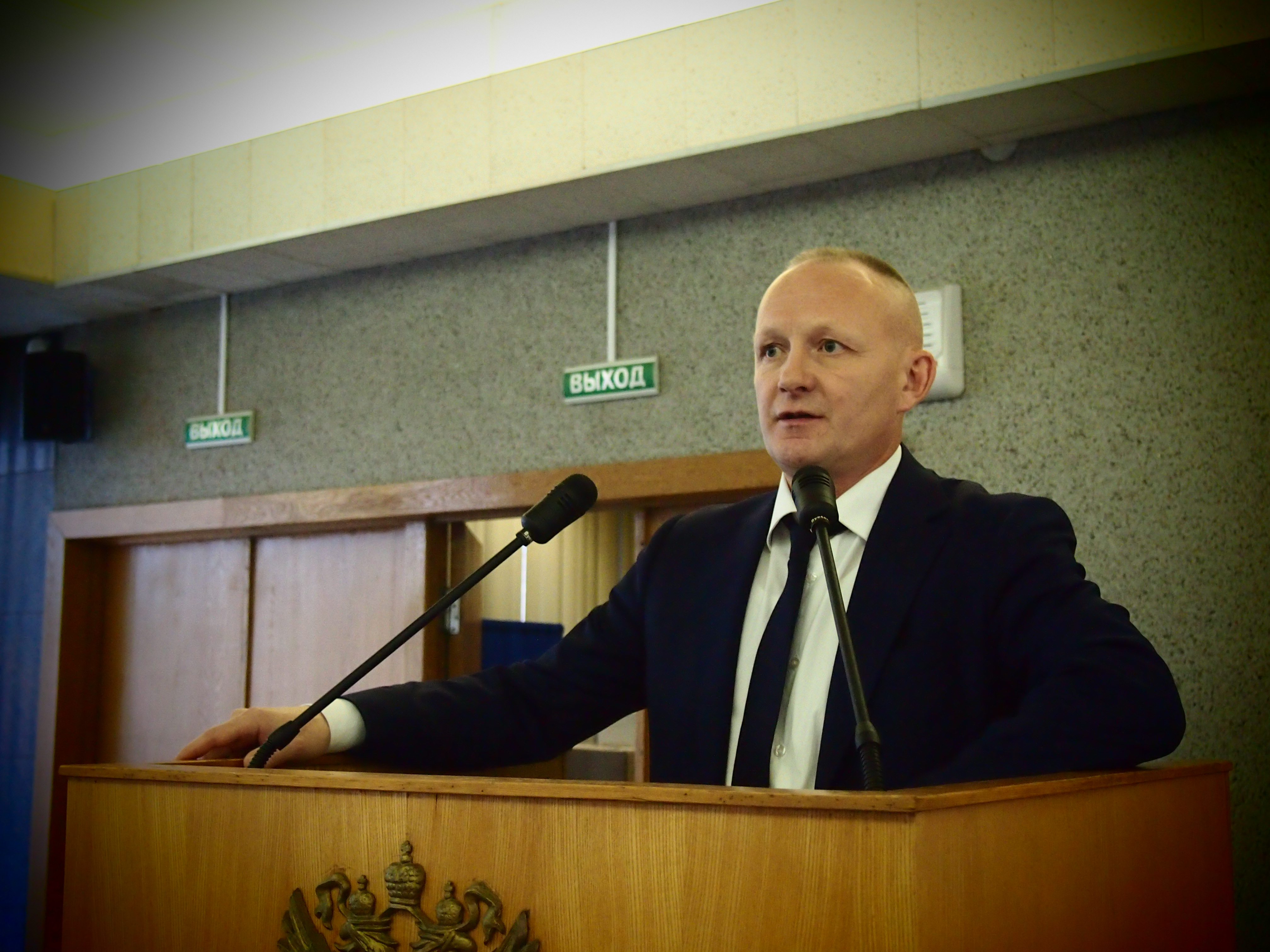 Депутат Петросовета Александр Анишин. Фото: Валерий Поташов