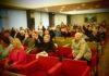 """На публичных слушаниях в мэрии Петрозаводска большинство участников (правда, с перевесом всего в несколько голосов) поддержало предложение об установке стелы """"Петрозаводск - город воинской славы"""" на набережной Онежского озера. Фото: Валерий Поташов"""