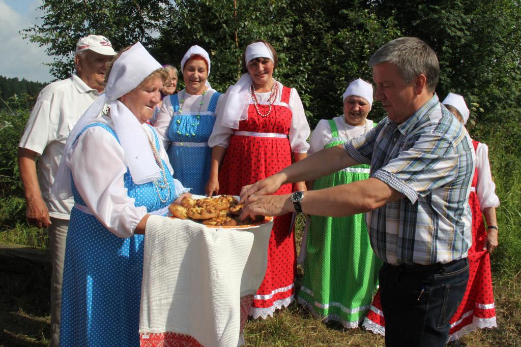 Визит карельского губернатора Худилайнена. Фото пресс-службы правительства Карелии