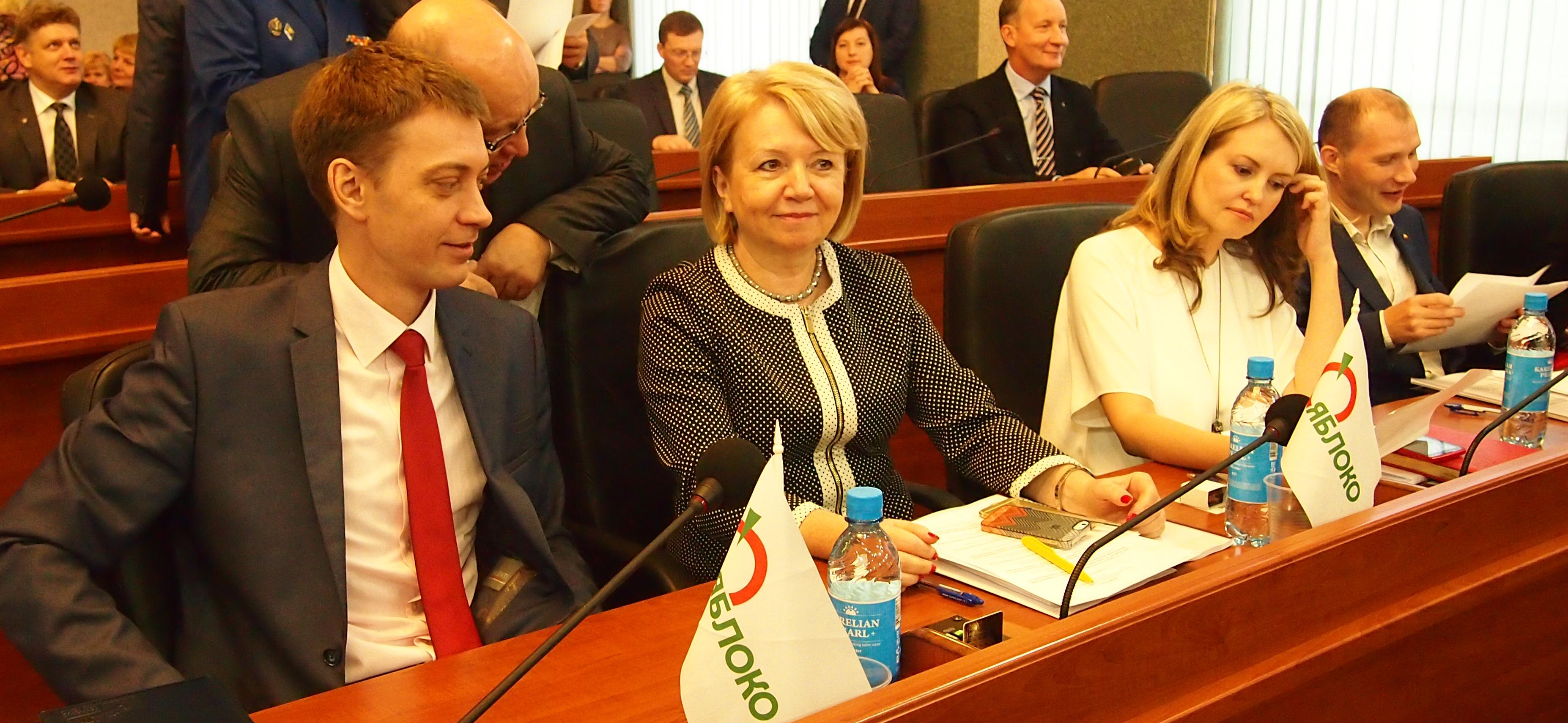 Парламентская оппозиция. Фото: Валерий Поташов