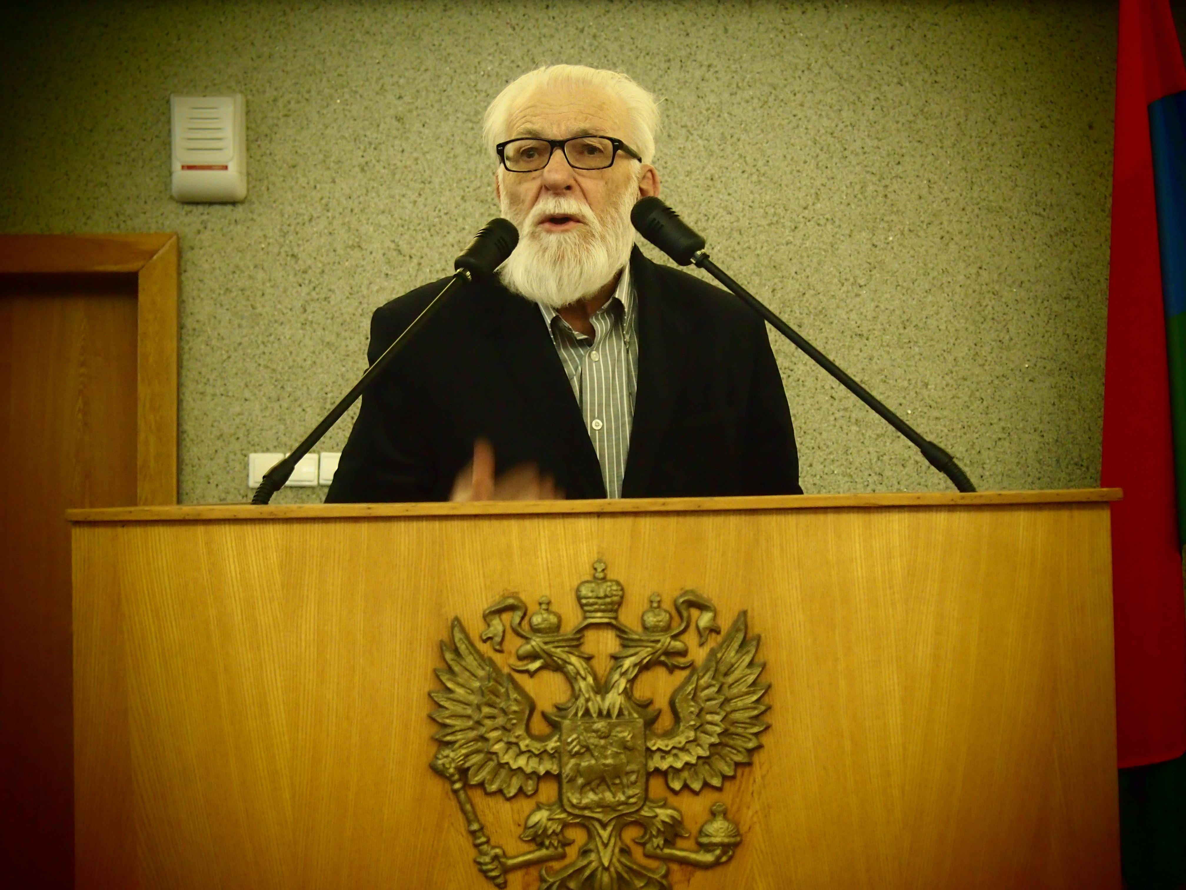 Почетный гражданин Петрозаводска, академик Вячеслав Орфинский. Фото: Валерий Поташов