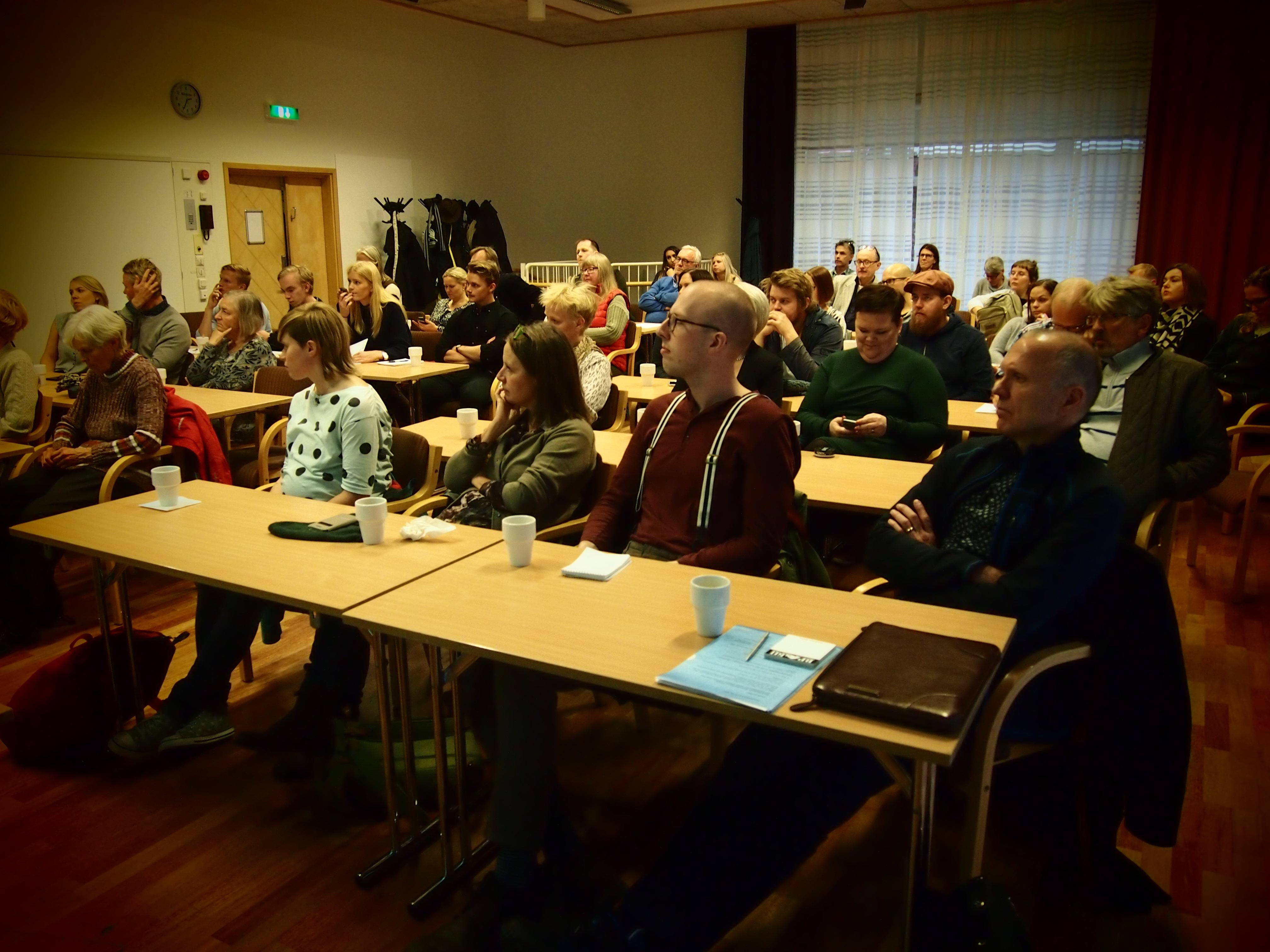 Журналистский семинар в Умео был посвящен 250-летию принятия в Швеции закона о свободе слова. Фото: Валерий Поташов