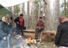Защитники Сунского бора. Фото: Алексей Владимиров