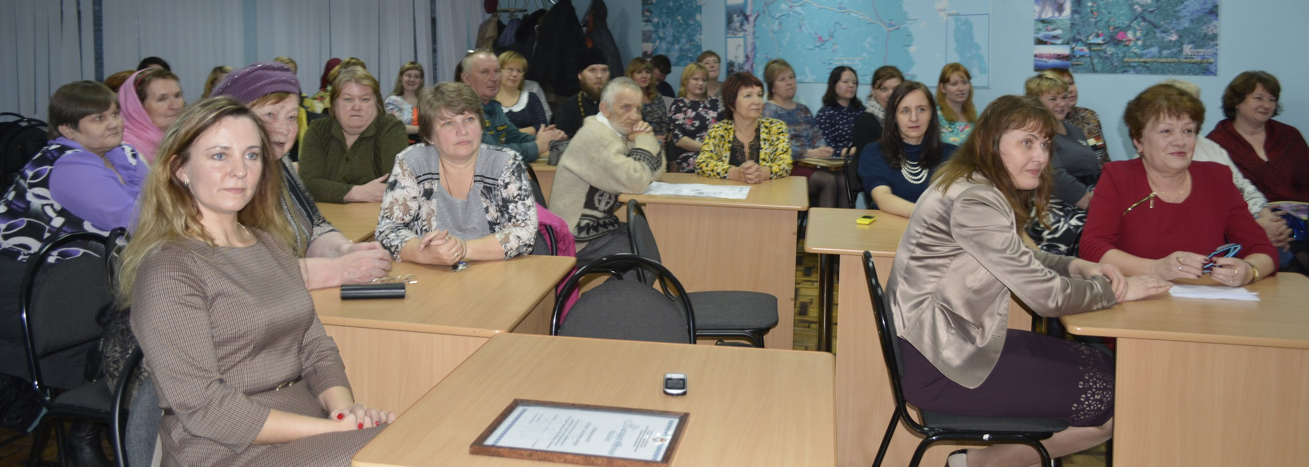 На юбилейном собрании. Фото: Надежда Васильева