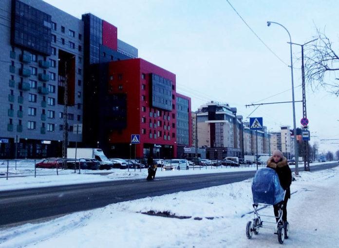 Набережная Варкауса в Петрозаводске. Фото: Татьяна Смирнова