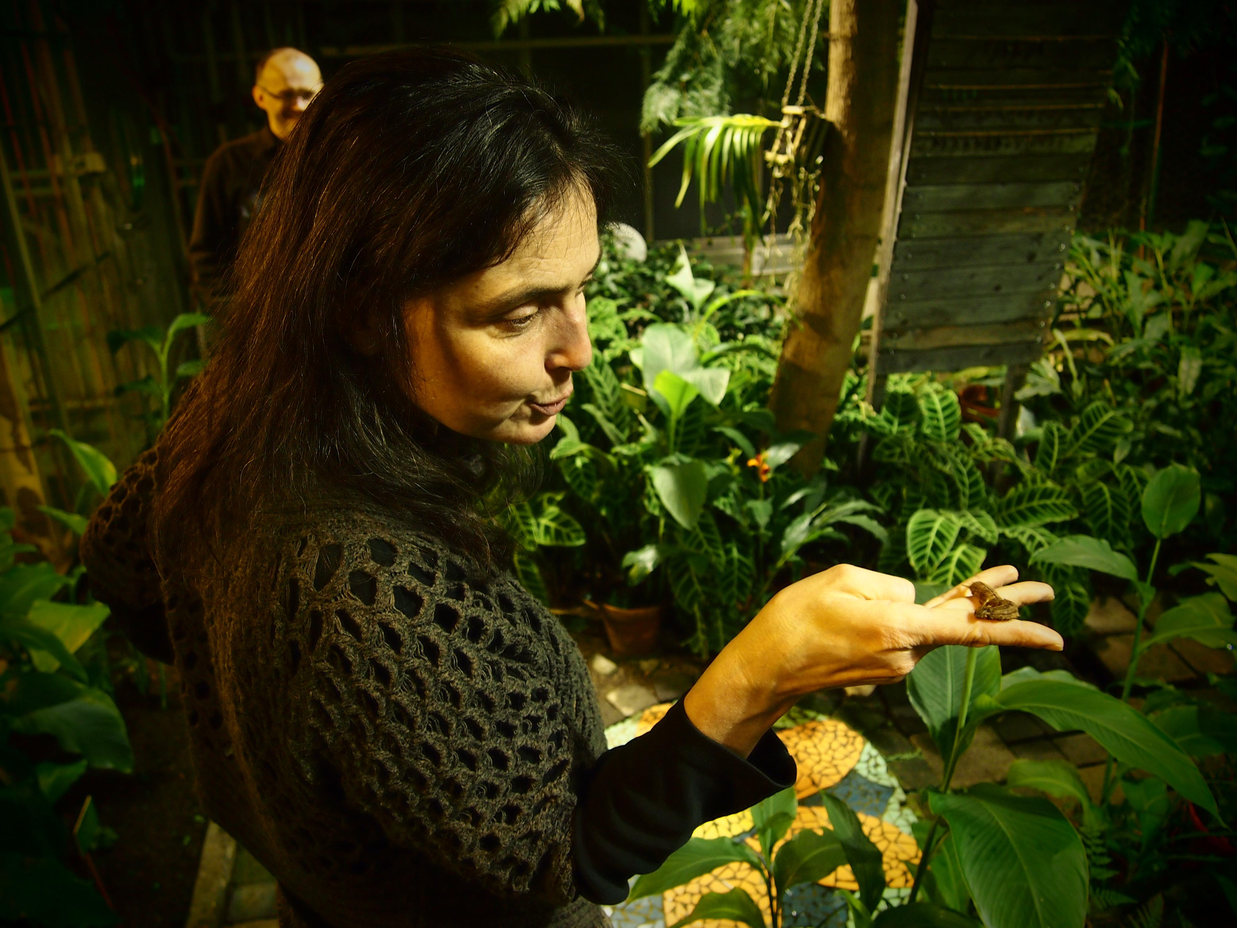Музыковед Ноора София Викман знает о бабочках не меньше, чем энтомологи. Фото: Валерий Поташов