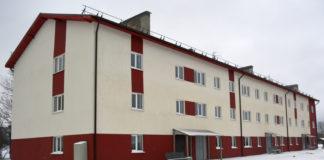 Новый дом, построенный в Олонце по программе расселения аварийного жилья. Фото: Алексей Владимиров