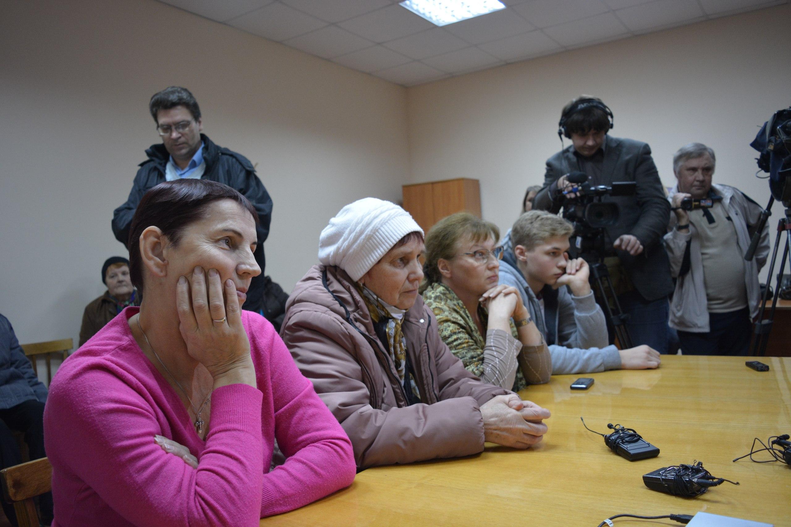 Участники встречи в Янишполе