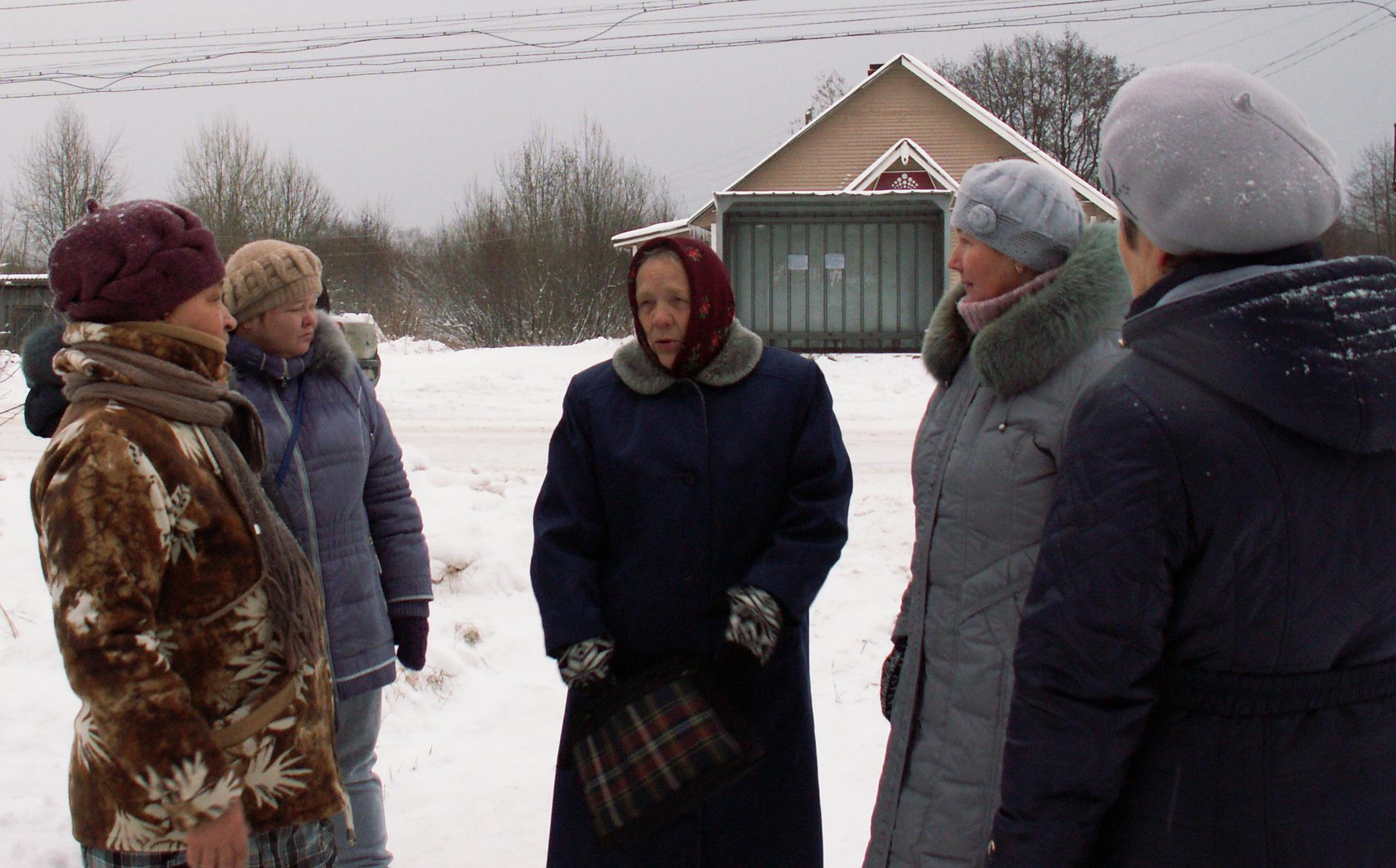 Рыборецкие активистки. Фото: Татьяна Смирнова