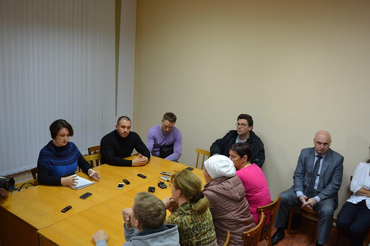 Встреча в Янишполе о судьбе Сунского бора