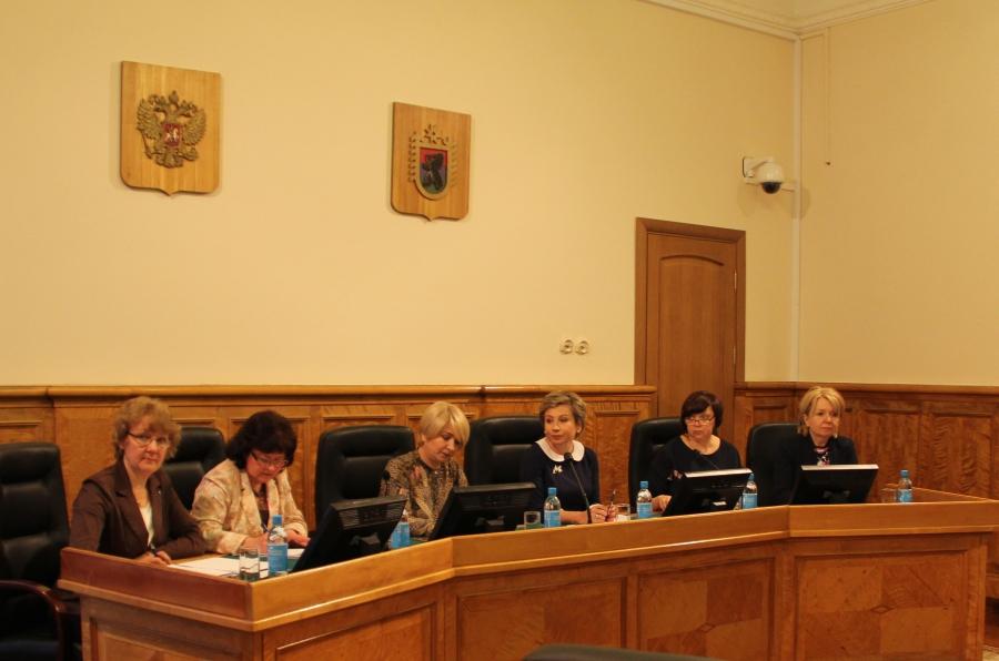 На заседании профильного комитета карельского парламента. Фото: karelia-zs.ru