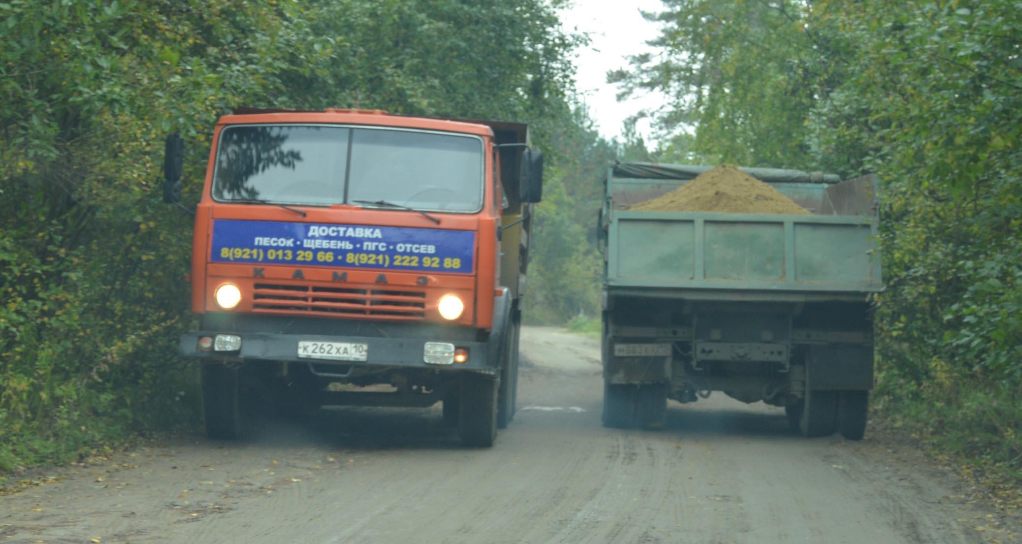 Кража песка в промышленных масштабах для сортавальских следователей не является преступлением. Фото: Александр Луговской