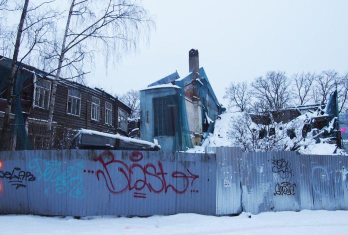 Бывшее здание детской поликлиники на проспекте Ленина в Петрозаводске является объектом культурного наследия. Фото: Валерий Поташов