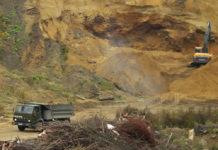 Воровство песка в карельском Приладожье приобрело промышленные масштабы. Фото: Александр Луговской