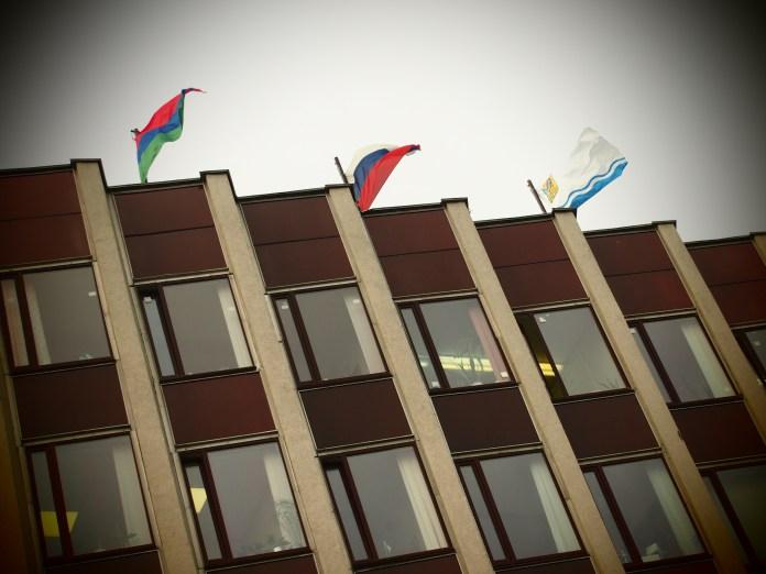 Здание администрации карельской столицы. Фото: Валерий Поташов
