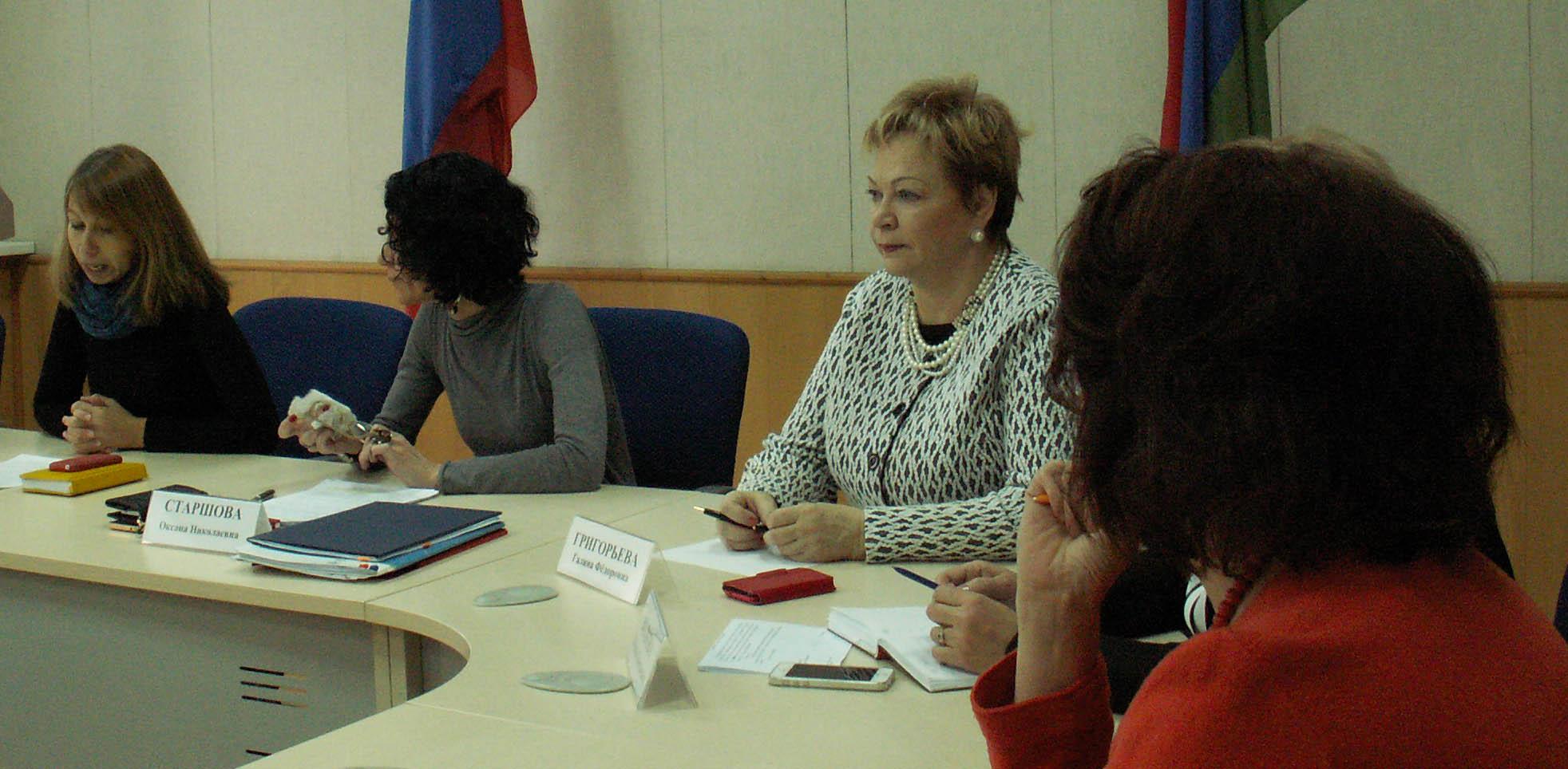Оксане Старшовой пришлось выслушать от общественников немало неприятных слов. Фото: Татьяна Смирнова