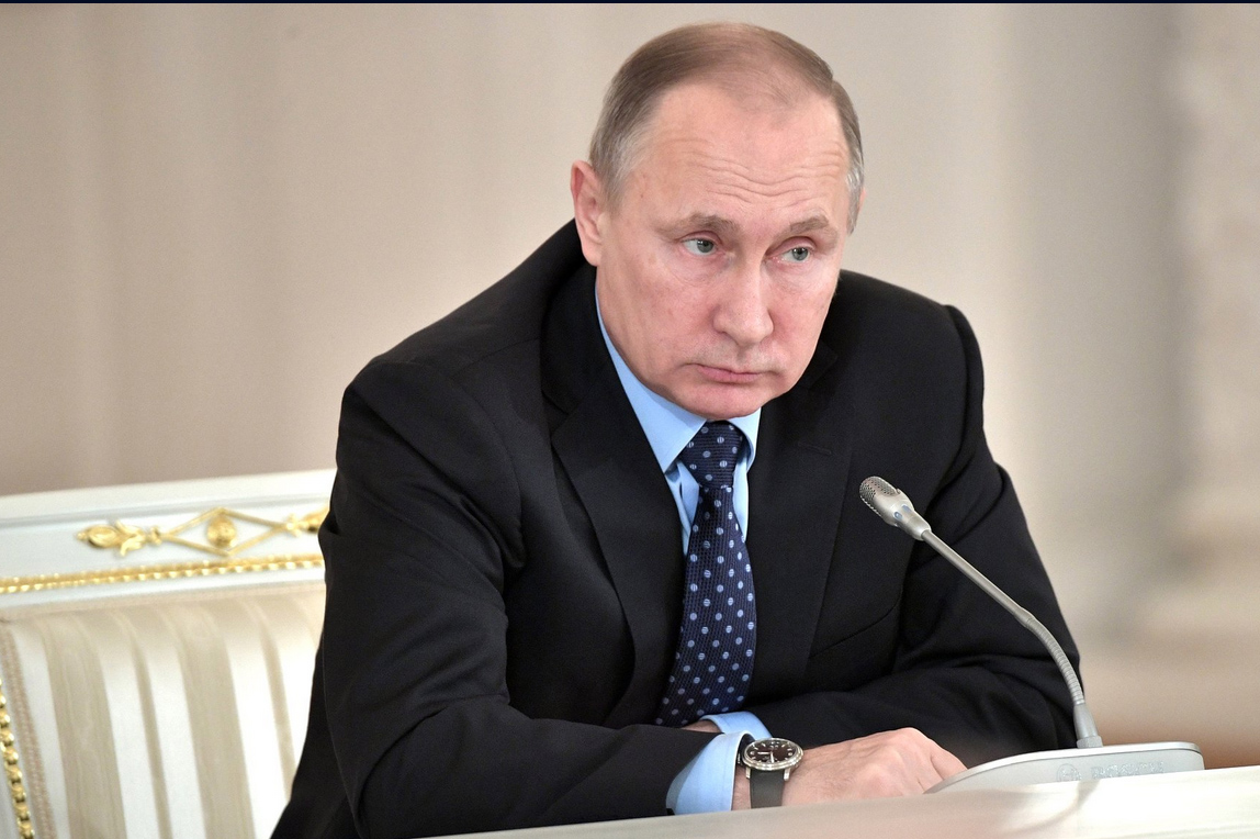 Президент Путин на заседании Госсовета. Фото: президент.рф