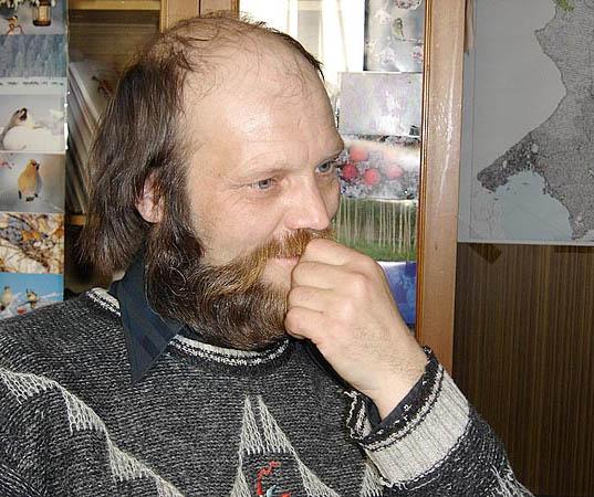 Житель приладожского поселка Тиурула Александр Талья стал лауреатом общественной экологической премии