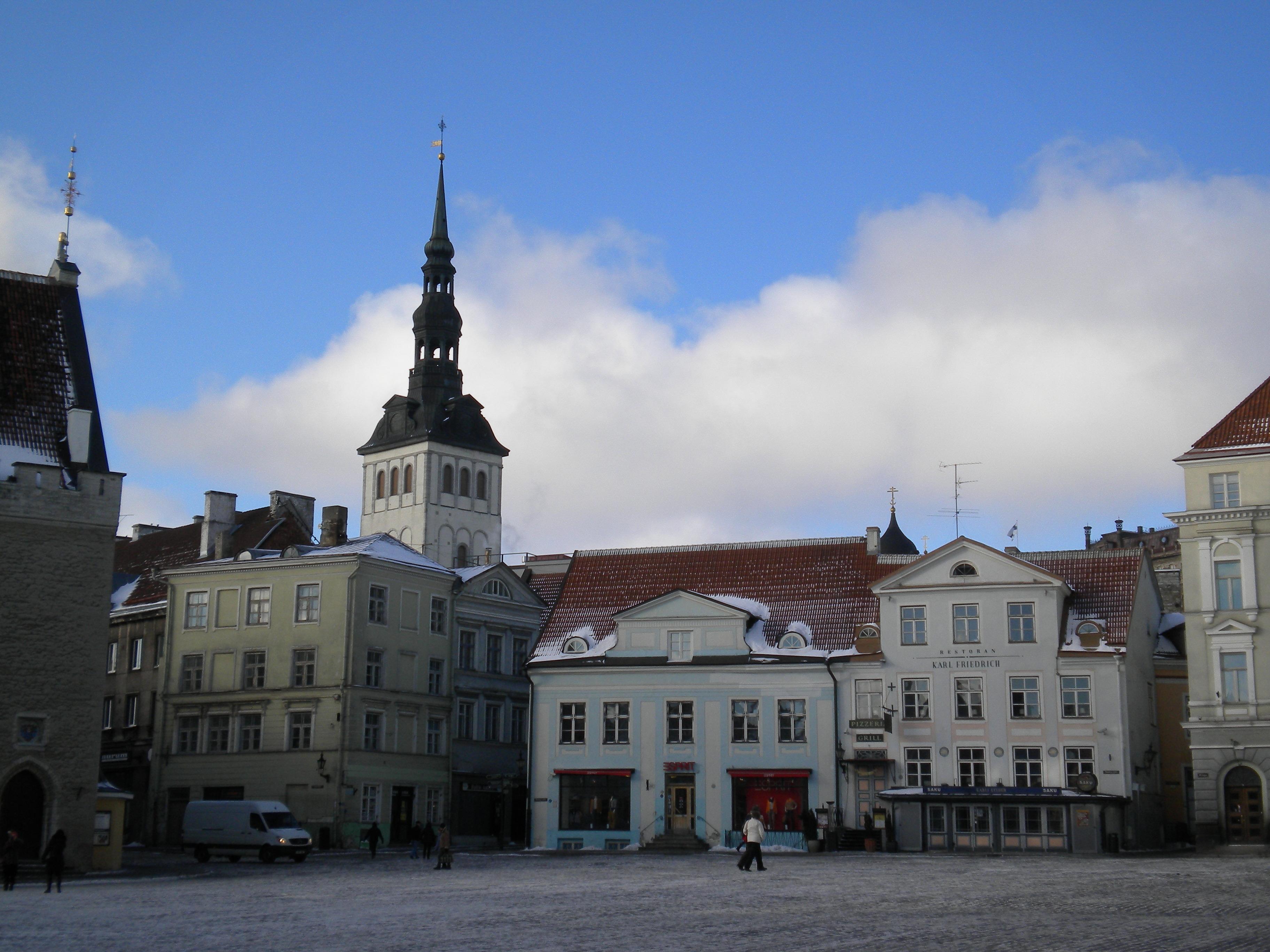 В Таллине - бывшей столице Эстонской ССР. Фото: Валерий Поташов