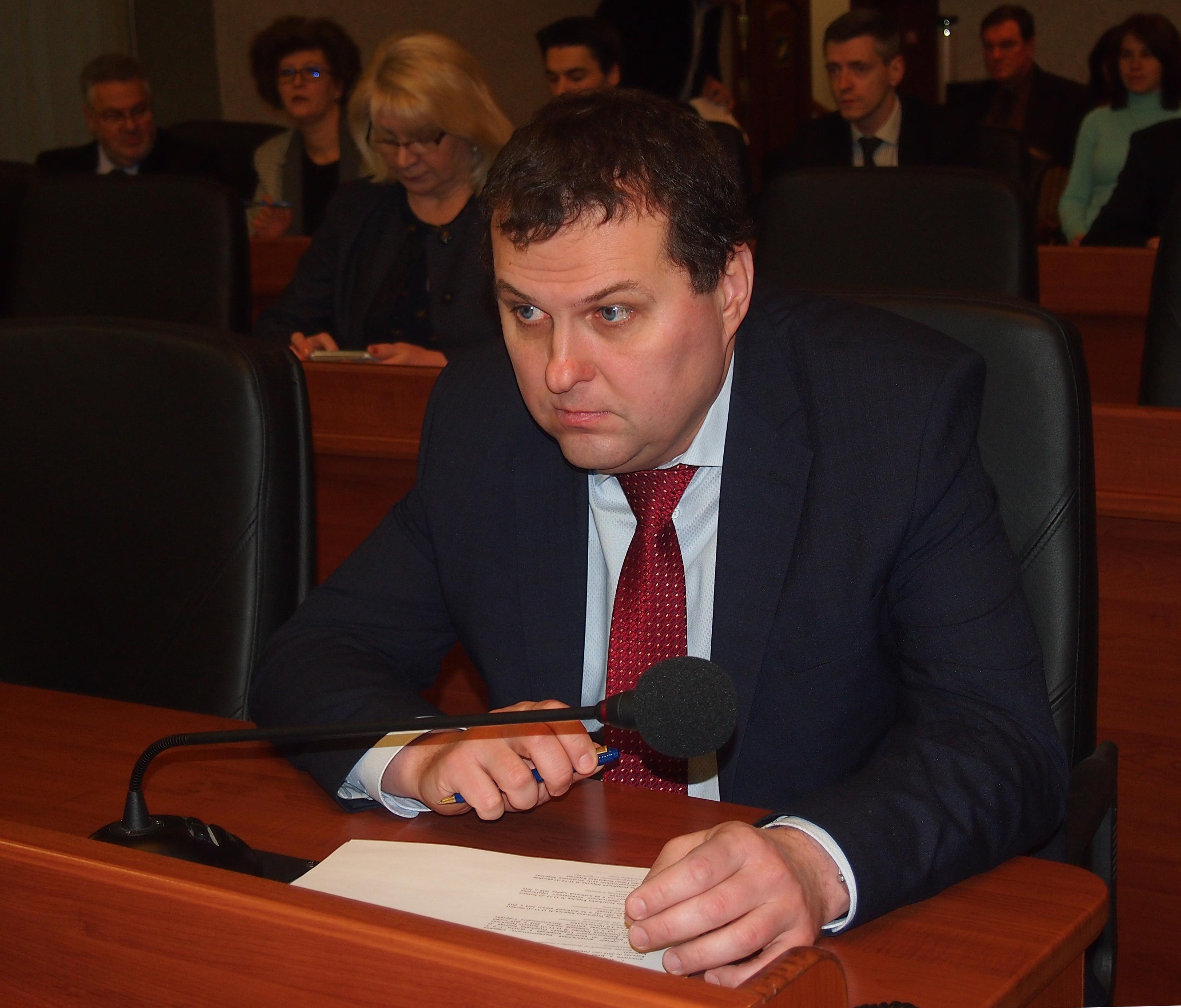 Премьер-министр Карелии Олег Тельнов. Фото: Валерий Поташов