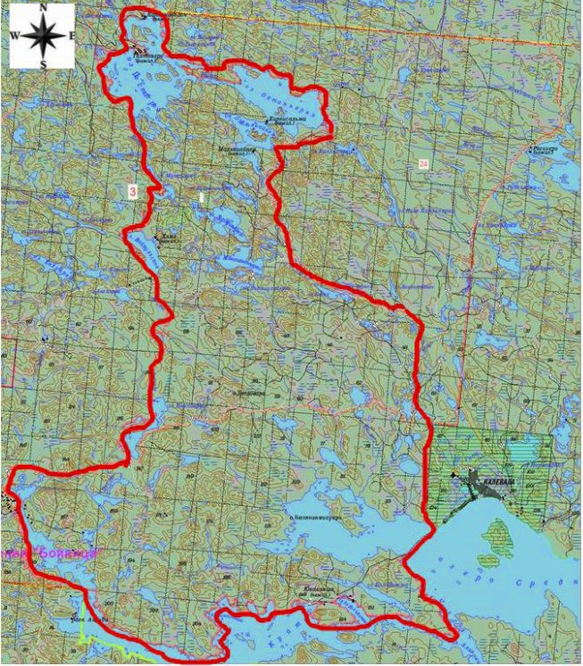 Карта-схема охотничьего хозяйства