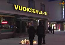 В ночь на воскресенье в приграничном финском городе Иматра 23-летний мужчина застрелил у ресторана Vuoksenvahti председателя горсовета и двух журналисток. Фото: Youtube