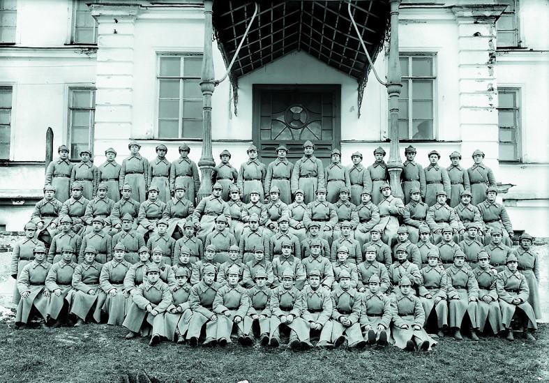 Карельская егерская бригада. Фото из семейного архива