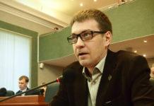 "Член фракции ""Яблоко"" парламента Карелии Андрей Рогалевич. Фото: Валерий Поташов"