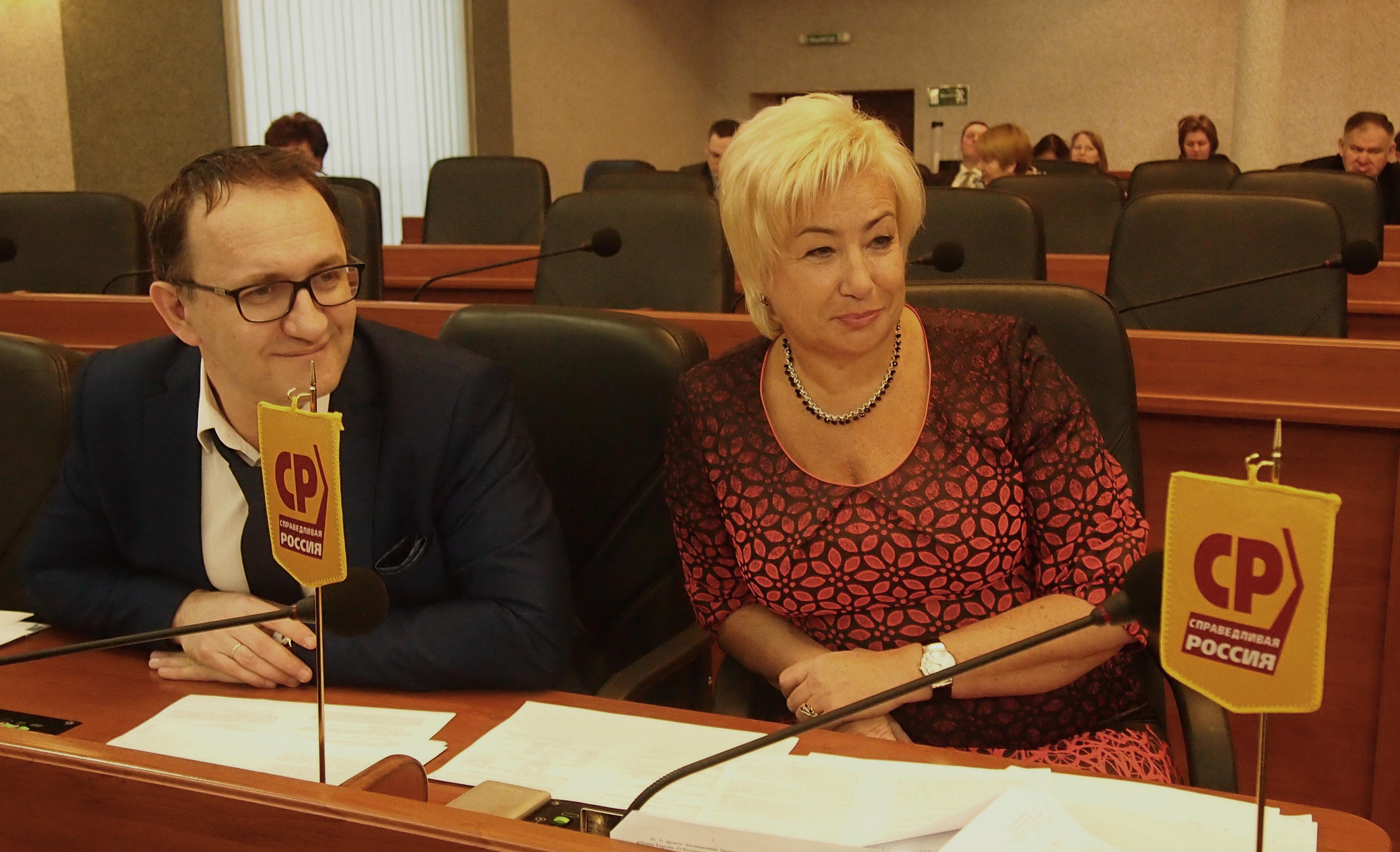 Александр Федичев и Ирина Петеляева. Фото: Валерий Поташов