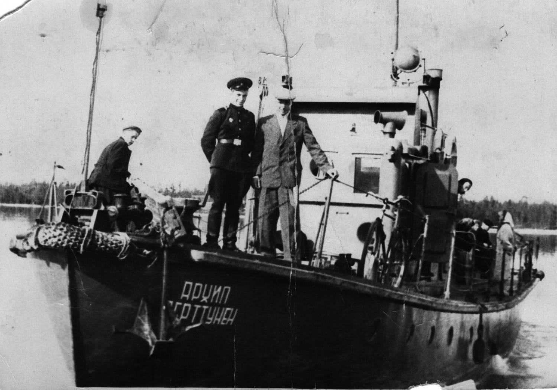 """Калевальский """"Титаник"""". Фото из архива П. Скарбовского (поселок Калевала)"""
