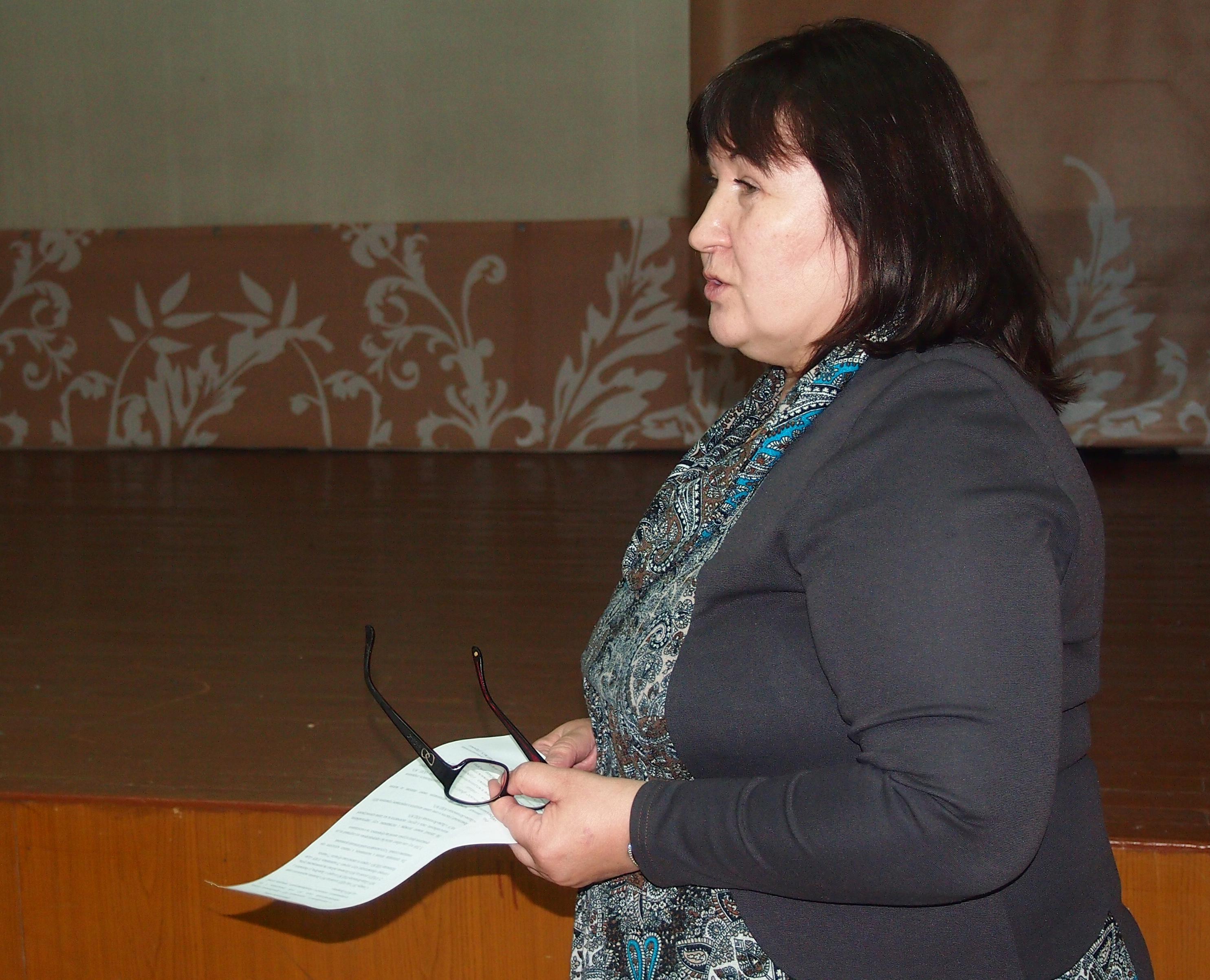 Людмила Пархомук. Фото: Валерий Поташов